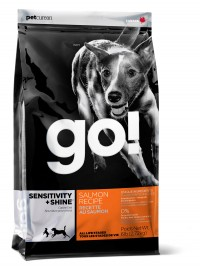 GO!™ Sensitivity + Shine Salmon Dog - Для собак всех пород и возрастов с Лососем и Овсянкой, 11.4 кг