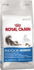 Royal Canin INDOOR LONG HAIR - Для домашних длинношерстных кошек