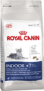 Royal Canin INDOOR +7 - Для пожилых кошек с 7 до 12 лет