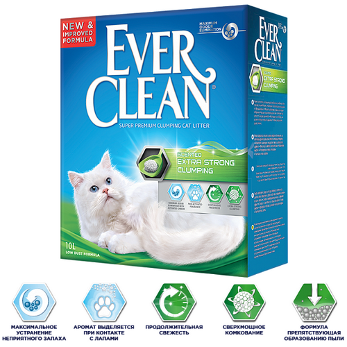Ever Clean Extra Strong Clumping Scented с ароматизатором